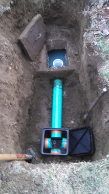 Septic Repairs to distribution box